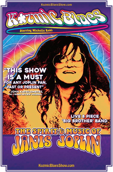 Kozmic Blues - Janis Joplin Tribute