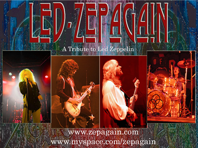 LED ZEPAGAIN @ THE COACH HOUSE »