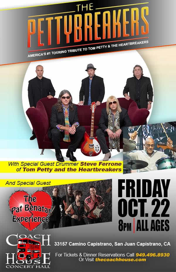 The Petty Breakers - A Tribute to Tom Petty @ THE COACH HOUSE »